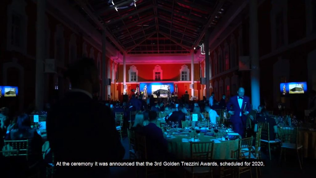 Golden Trezzini Awarding Ceremony: video with subtitles