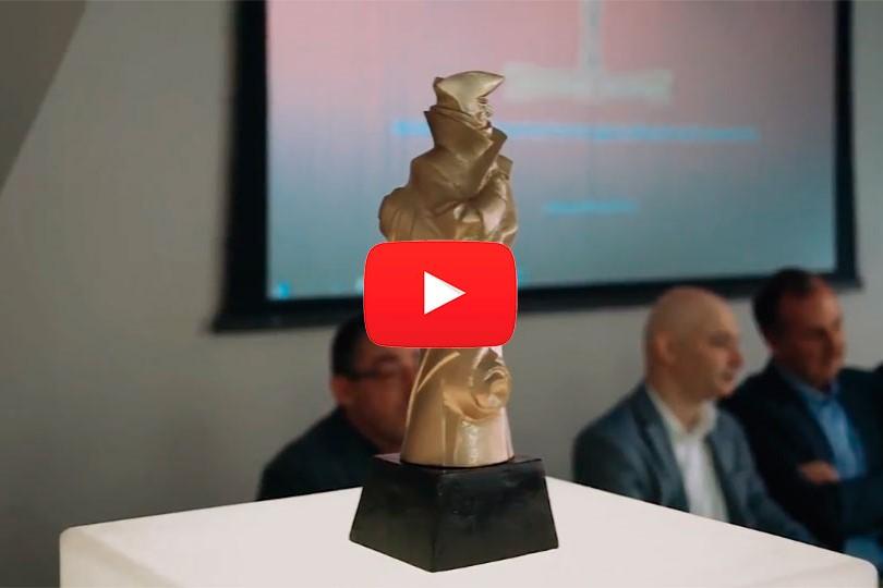 Новостной сюжет о старте конкурса «Золотой Трезини»
