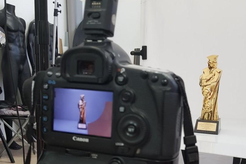 Статуэтка «Золотой Трезини»: хроника фотосессии