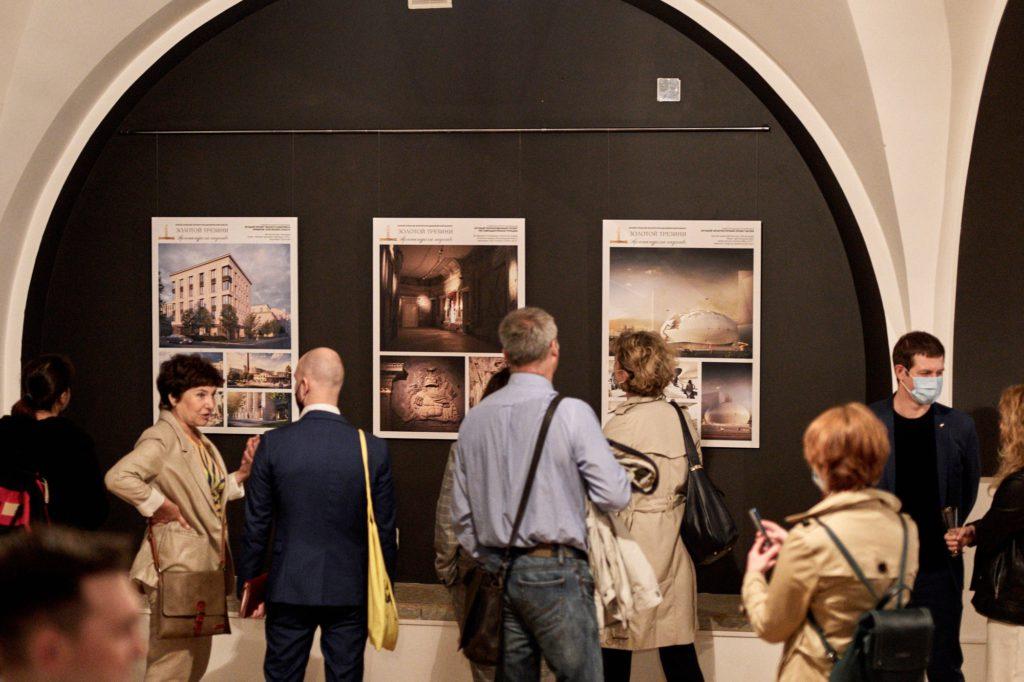 Открытие выставки победителей «Золотого Трезини-2019»: фото