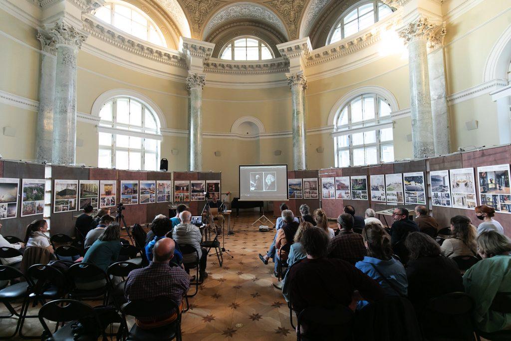 Лекция М. Б. Атаянца «Европейский образ Пальмиры и архитектурные увражи»